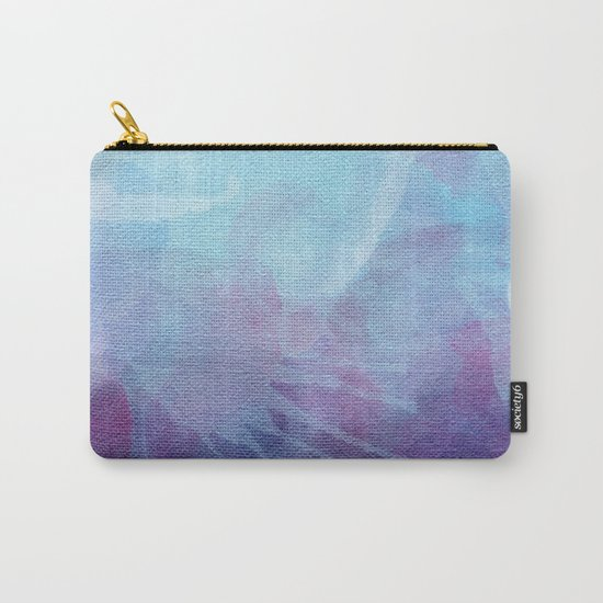 Blue Watercolor I Carry-All Pouch