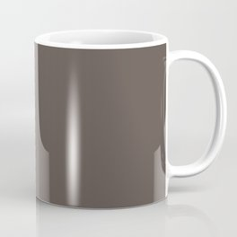 February Bouquet ~ Liver Brown Coffee Mug