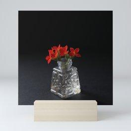Red Succulent Blossoms Mini Art Print