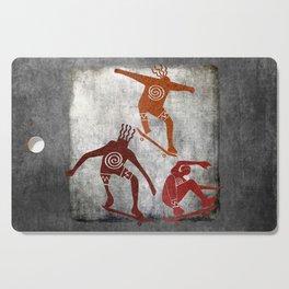 Skateboard Petroglyph Cutting Board