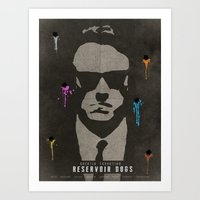 reservoir dogs Art Prints featuring Reservoir Dogs by Fan Prints