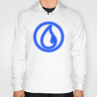 magic the gathering Hoodies featuring Magic the Gathering, Neon Blue Mana by Thorn Blackstar