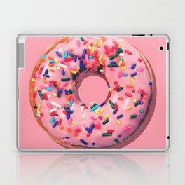 Pink Donut Laptop & iPad Skin