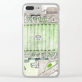 Trinity High School Football Field, Louisville, KY #gift Clear iPhone Case