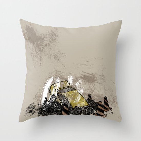 Where is? daddy Throw Pillow