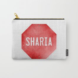Stop Sharia Carry-All Pouch