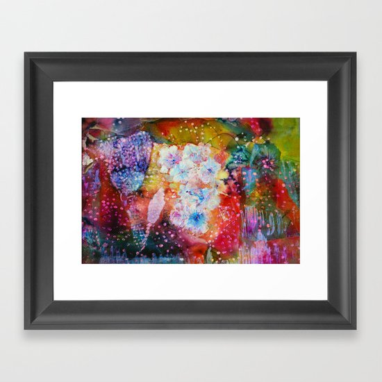 Fiesta Painting  Framed Art Print