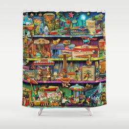 Toy Wonderama Shower Curtain