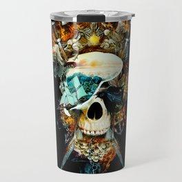 Pirate Skull Travel Mug