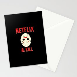 Netflix & Kill - Jason Vorhees Friday The 13th Stationery Cards