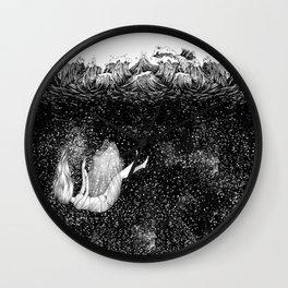 The Stars Beneath the Waves Wall Clock