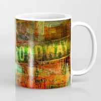broadway Mugs featuring Slice of Broadway by Joe Ganech