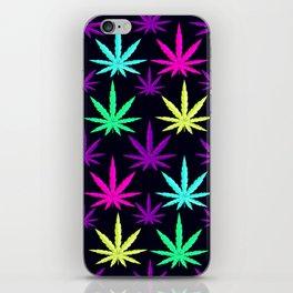 Colorful Marijuna Weed iPhone Skin