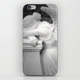 crying angel iPhone Skin
