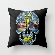 DEAD SKULL  Throw Pillow