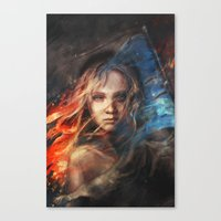 alicexz Canvas Prints featuring Do You Hear the People Sing? by Alice X. Zhang