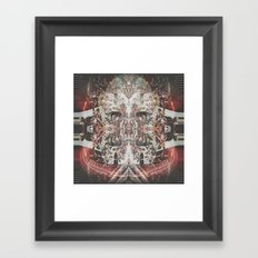 Gem Shimmer Soul Framed Art Print