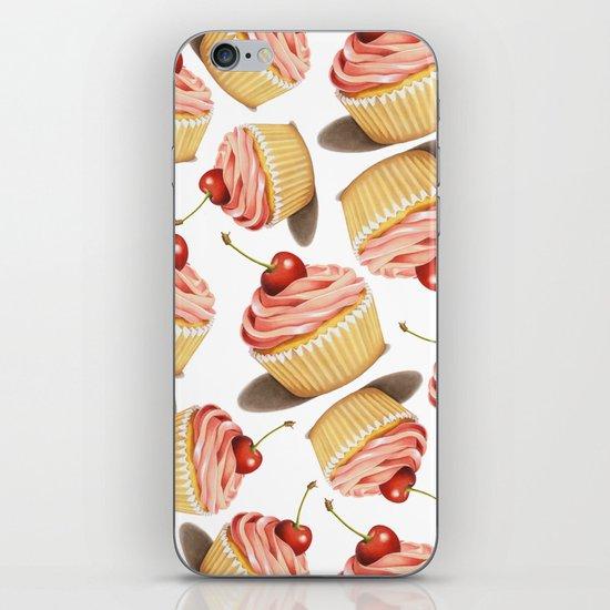 Pink Cupcake II iPhone Skin