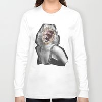 geode Long Sleeve T-shirts featuring Geode Marilyn by hunnydoll