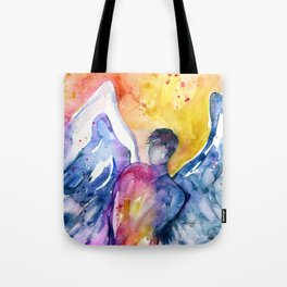 Luke Angel by Kathy Morton Stanion Tote Bag