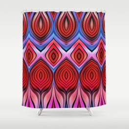 Vivid 2015/ Beets on Beetroot Shower Curtain