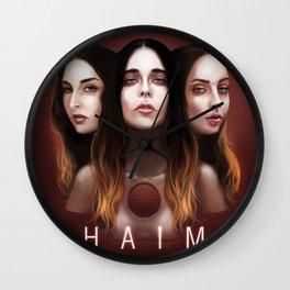 haim life Wall Clock