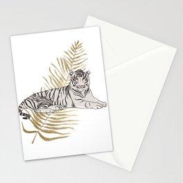 Golden Tigeress Stationery Cards