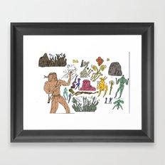 ^&^&^&^ Framed Art Print