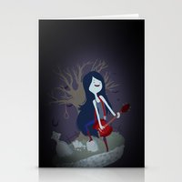 marceline Stationery Cards featuring Marceline by Tae V