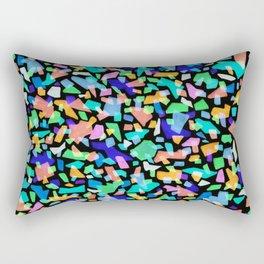 Neon Terrazzo Rectangular Pillow