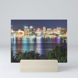 Halifax Skyline Panorama Mini Art Print