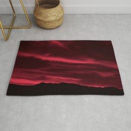 SW Burgundy Sunrise Rug