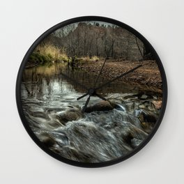 Oak Creek at Red Rock Crossing Wall Clock