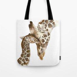 Jiraffe Love Tote Bag
