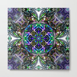 Center Of Attention - Rainbow Collection Metal Print