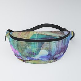 Green Cow Fanny Pack