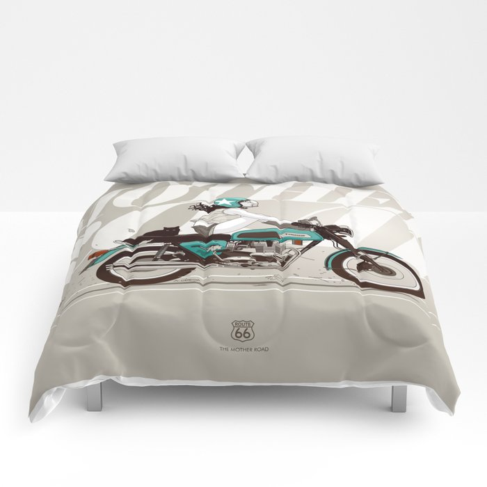 The Mother Road Comforters