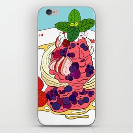 Very Berry Pancakes iPhone Skin