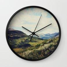 Mountain Spirit Wall Clock