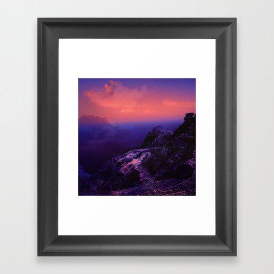 Last morning Framed Art Print