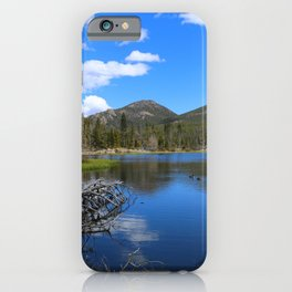 Sprague Lake And Cloud Reflection iPhone Case