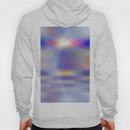 blue rhombus Hoody