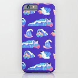 Ocean wave shells iPhone Case