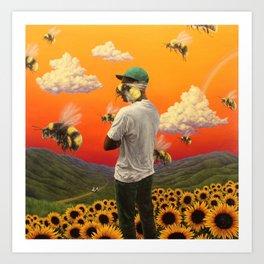 Flower Boy- Tyler, the Creator Art Print