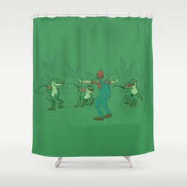 Yoshi Training Shower Curtain