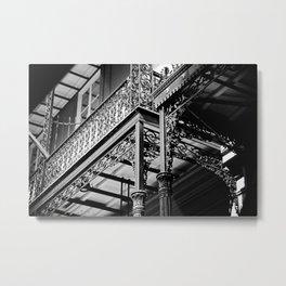 Wrought Iron Balcony Metal Print
