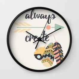 Always create Wall Clock