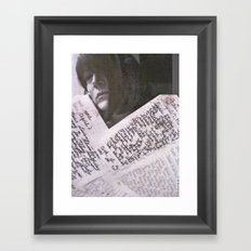 7th GRADE Framed Art Print