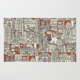 Hong Kong toile de jouy Rug