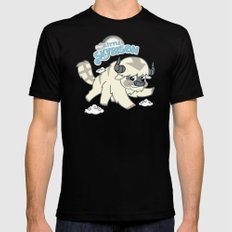 My Little Sky Bison X-LARGE Mens Fitted Tee Black